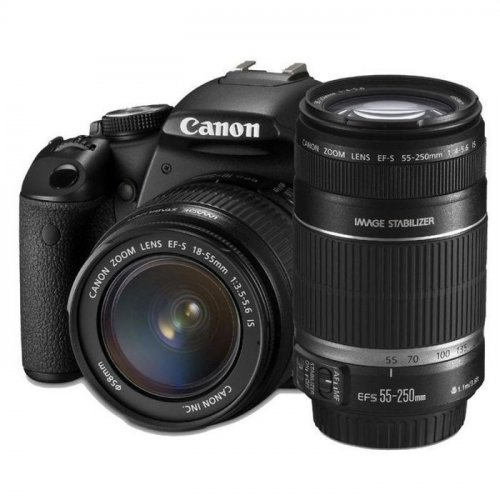 Фото Цифровые фотоаппараты Canon EOS 650D 18-55 IS II + 55-250 IS II Kit