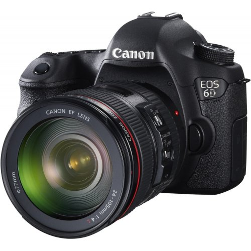 Фото Цифровые фотоаппараты Canon EOS 6D 24-105 IS (WiFi + GPS) Kit