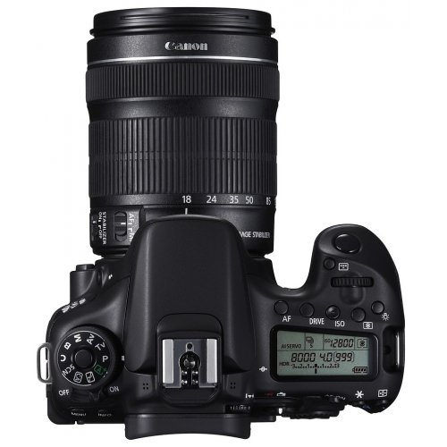 Фото Цифровые фотоаппараты Canon EOS 70D 18-135 IS STM (WiFi) Kit