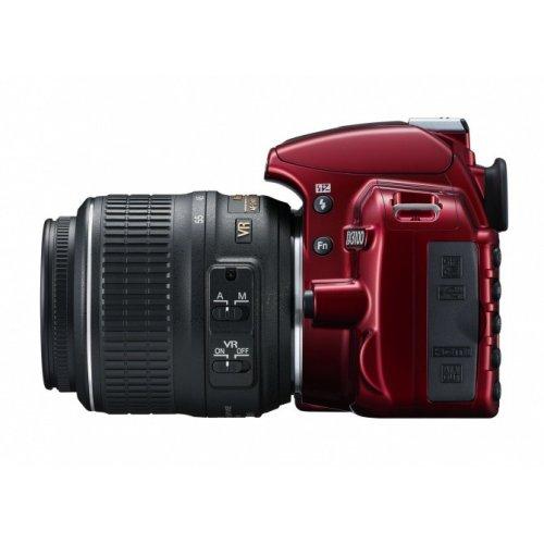 Фото Цифровые фотоаппараты Nikon D3100 18-55 VR Kit Red