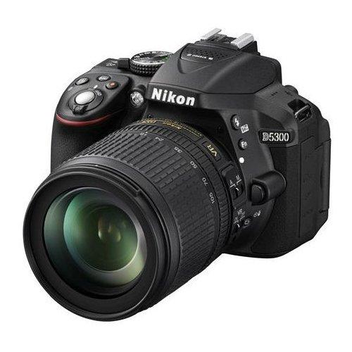 Фото Цифровые фотоаппараты Nikon D5300 18-105 VR Kit (Официальная гарантия)
