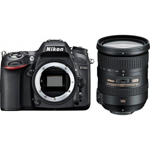 Фото Цифровые фотоаппараты Nikon D7100 18-200 VR Kit