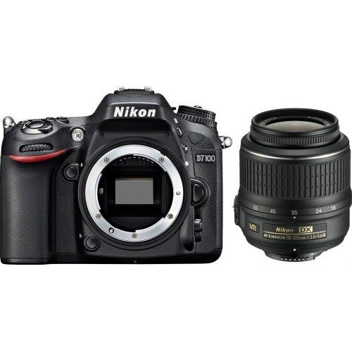 Фото Цифровые фотоаппараты Nikon D7100 18-55 VR Kit