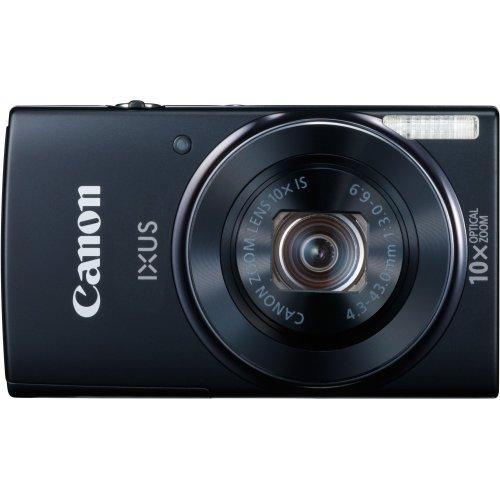 Фото Цифровые фотоаппараты Canon IXUS 155 Black