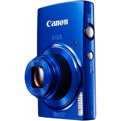 Фото Цифровые фотоаппараты Canon IXUS 155 Blue