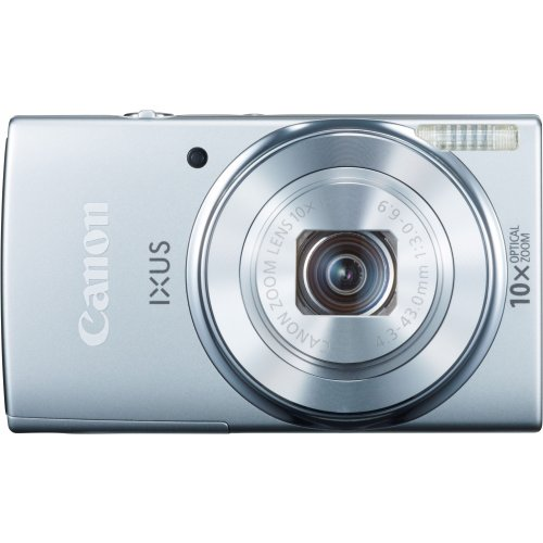 Фото Цифровые фотоаппараты Canon IXUS 155 Silver
