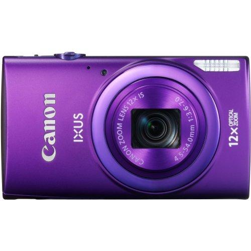 Фото Цифровые фотоаппараты Canon IXUS 265 HS Purple