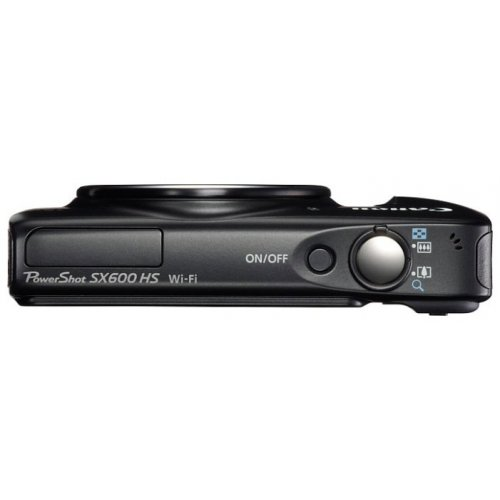 Фото Цифровые фотоаппараты Canon PowerShot SX600 HS Black