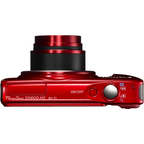 Фото Цифровые фотоаппараты Canon PowerShot SX600 HS Red