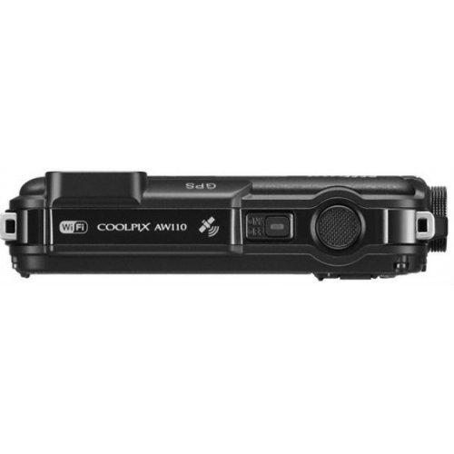 Фото Цифровые фотоаппараты Nikon Coolpix AW110 Black
