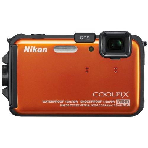 Фото Цифровые фотоаппараты Nikon Coolpix AW110 Orange