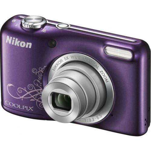 Фото Цифровые фотоаппараты Nikon Coolpix L27 Purple