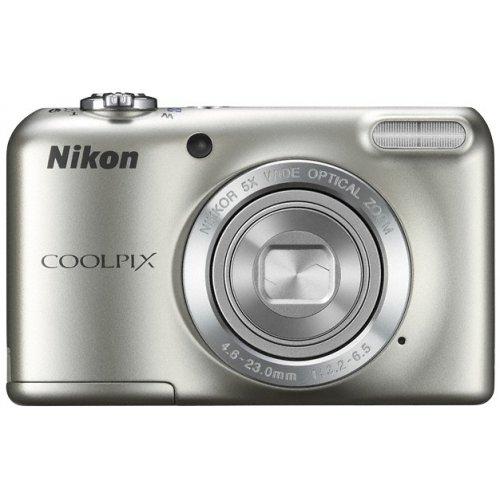 Фото Цифровые фотоаппараты Nikon Coolpix L27 Silver
