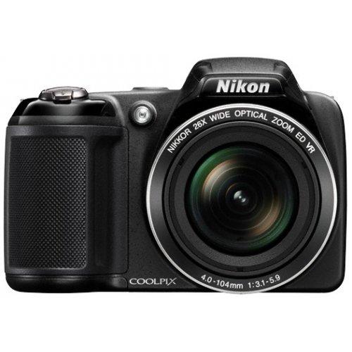 Фото Цифровые фотоаппараты Nikon Coolpix L320 Black