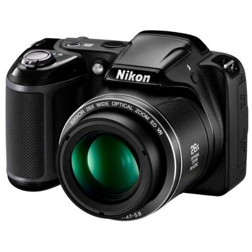 Фото Цифровые фотоаппараты Nikon Coolpix L330 Black