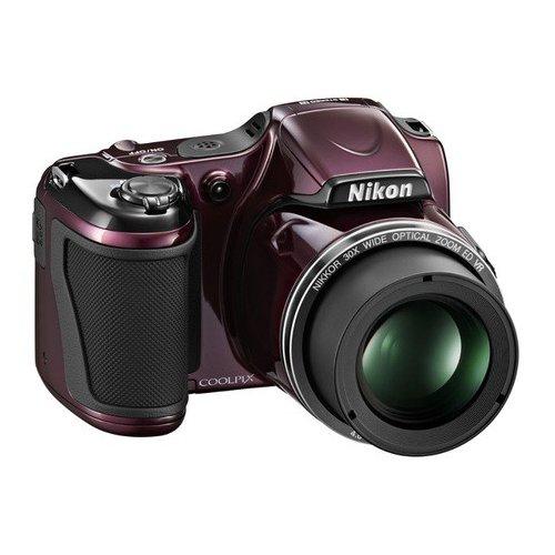 Фото Цифровые фотоаппараты Nikon Coolpix L830 Violet