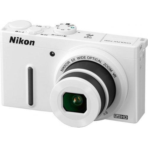 Фото Цифровые фотоаппараты Nikon Coolpix P330 White