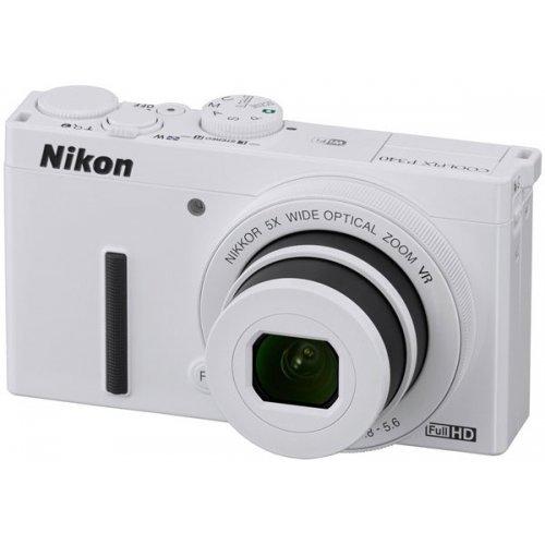 Фото Цифровые фотоаппараты Nikon Coolpix P340 White