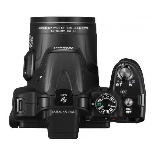Фото Цифровые фотоаппараты Nikon Coolpix P520 Black