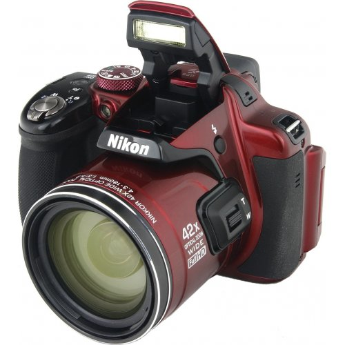 Фото Цифровые фотоаппараты Nikon Coolpix P520 Red