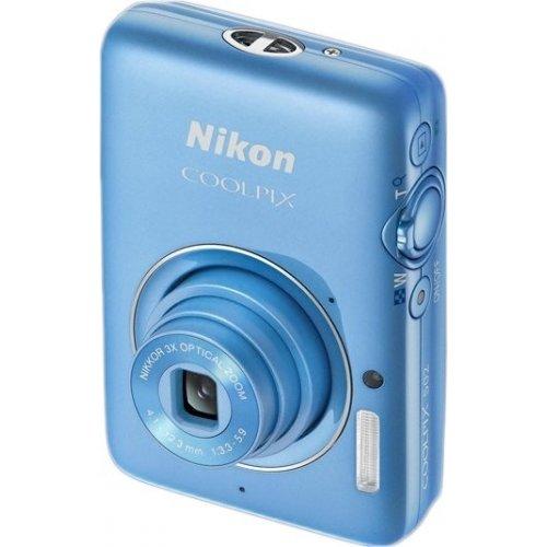 Фото Цифровые фотоаппараты Nikon Coolpix S02 Blue