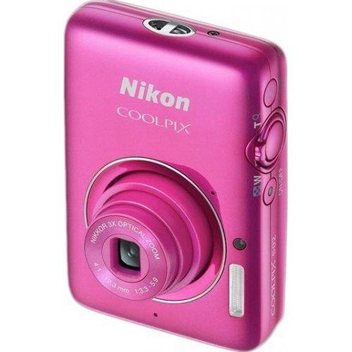 Фото Цифровые фотоаппараты Nikon Coolpix S02 Rose