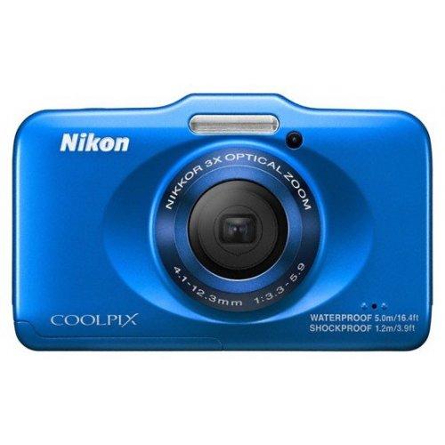 Фото Цифровые фотоаппараты Nikon Coolpix S31 Blue