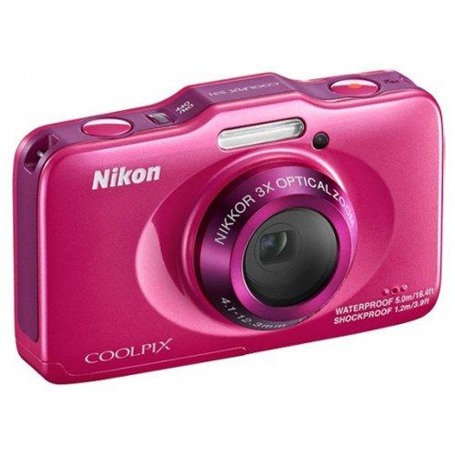 Фото Цифровые фотоаппараты Nikon Coolpix S31 Rose