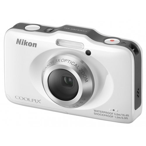 Фото Цифровые фотоаппараты Nikon Coolpix S31 White