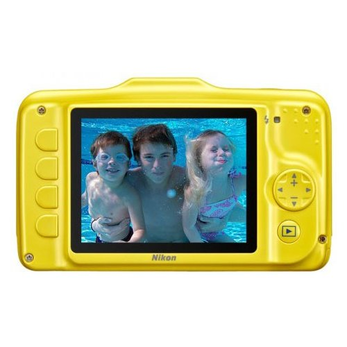 Фото Цифровые фотоаппараты Nikon Coolpix S31 Yellow
