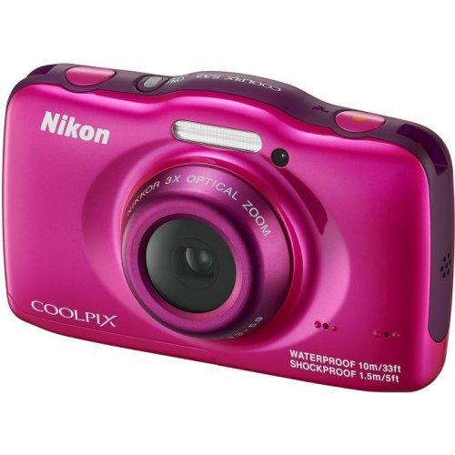 Фото Цифровые фотоаппараты Nikon Coolpix S32 Rose