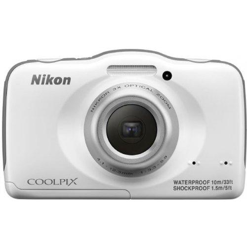 Фото Цифровые фотоаппараты Nikon Coolpix S32 White