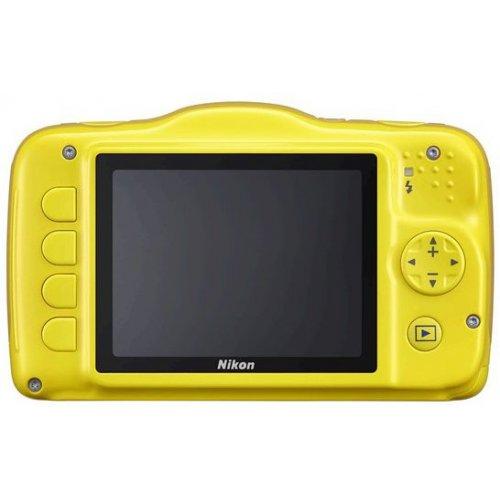 Фото Цифровые фотоаппараты Nikon Coolpix S32 Yellow