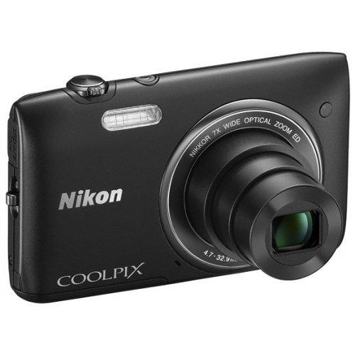 Фото Цифровые фотоаппараты Nikon Coolpix S3400 Black