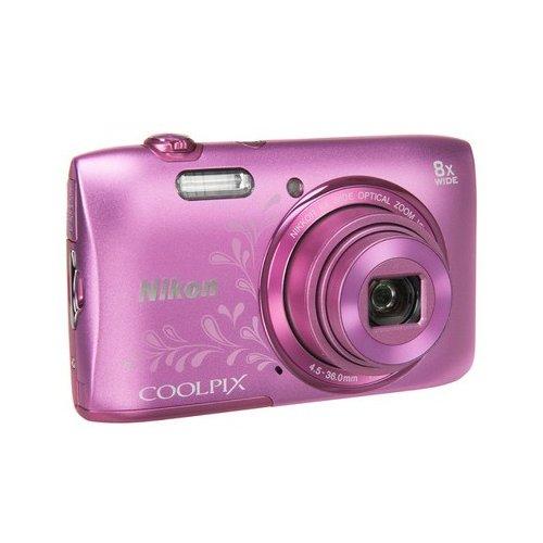 Фото Цифровые фотоаппараты Nikon Coolpix S3600 Rose