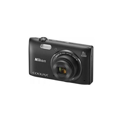 Фото Цифровые фотоаппараты Nikon Coolpix S5300 Black