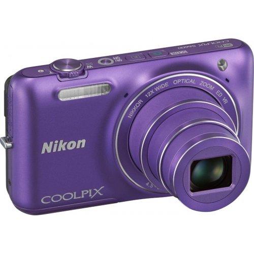 Фото Цифровые фотоаппараты Nikon Coolpix S6600 Purple
