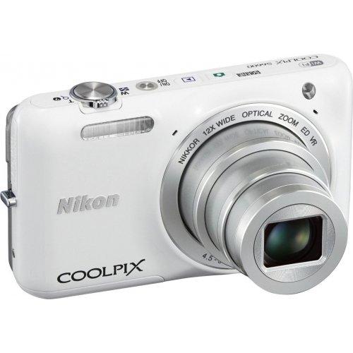 Фото Цифровые фотоаппараты Nikon Coolpix S6600 White