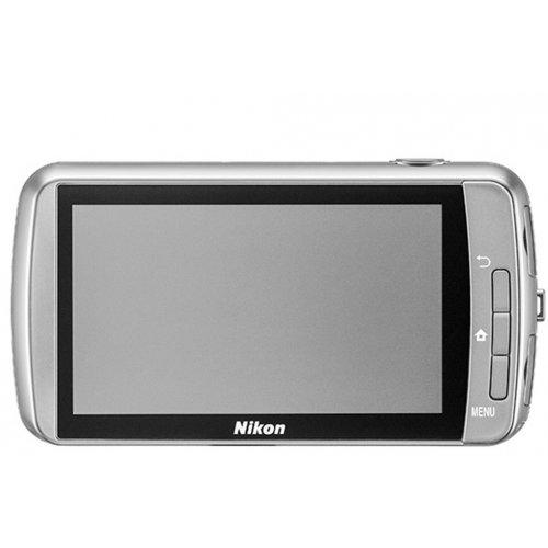 Фото Цифровые фотоаппараты Nikon Coolpix S800c White