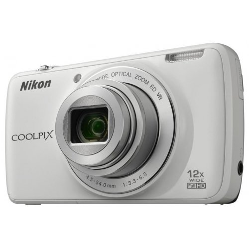Фото Цифровые фотоаппараты Nikon Coolpix S810c White