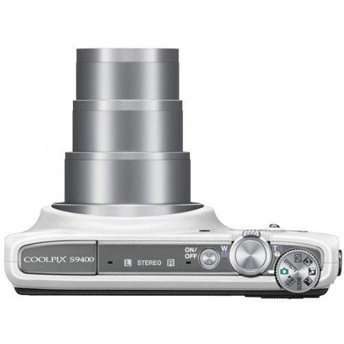 Фото Цифровые фотоаппараты Nikon Coolpix S9400 White