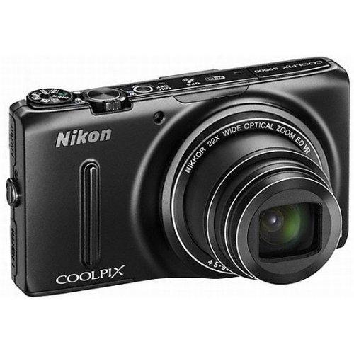 Фото Цифровые фотоаппараты Nikon Coolpix S9500 Black