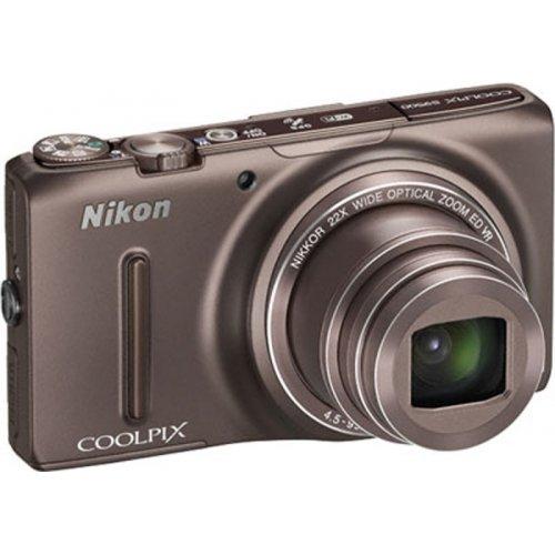 Фото Цифровые фотоаппараты Nikon Coolpix S9500 Bronze