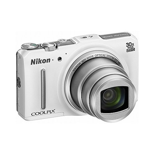 Фото Цифровые фотоаппараты Nikon Coolpix S9700 White