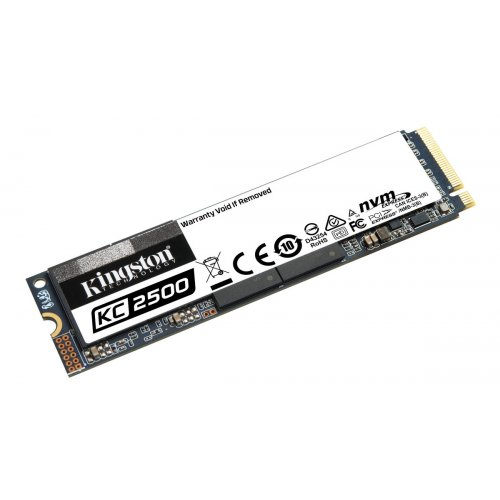 Фото SSD-диск Kingston KC2500 3D NAND TLC 500GB M.2 (2280 PCI-E) NVMe x4 (SKC2500M8/500G)