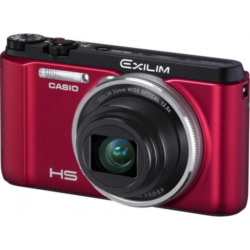 Фото Цифровые фотоаппараты Casio Exilim EX-ZR1000 Red