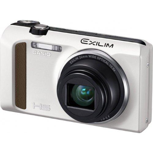 Фото Цифровые фотоаппараты Casio Exilim EX-ZR400 White