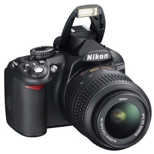 Фото Цифровые фотоаппараты Nikon D3100 18-55 VR Kit