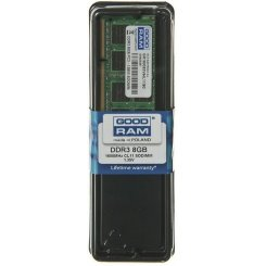 Фото ОЗУ GoodRAM SODIMM DDR3 8GB 1600Mhz (GR1600S3V64L11/8G)