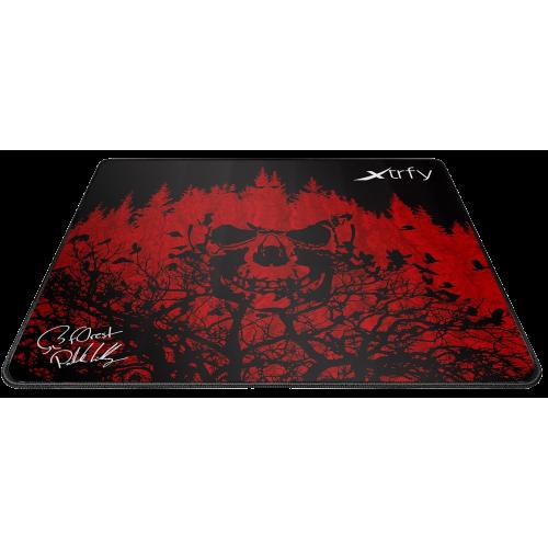 Фото Килимок для миші Xtrfy XTP1 f0rest Large (XTP1-L4-FO-1) Black/Red